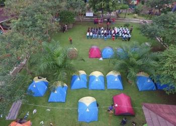 Sanggaluri Park Purbalingga menyediakan paket berwisata yang dikemas dengan 'Sanggaluri Campsite'. (Istimewa)