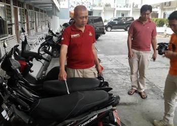 OLAH TKP: Petugas kepolisian Polres Banyumas melakukan olah TKP. (37) (SM/dok)