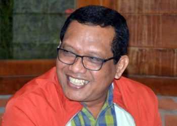 Kepala OJK Purwokerto Sumarlan (SM/Sigit Oediarto-37)