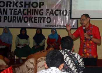 TEACHING FACTORY: Suasana kegiatan diseminasi pelaksanaan teaching factory yang berlangsung di SKB Purwokerto, Kamis (5/12).(SM/Budi Setyawan-60)