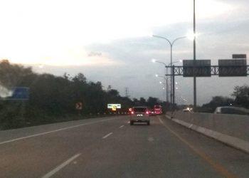 TEGAL SEMARANG: Tak hanya jalan tol Tegal Semarang, saat ini pemerintah juga sedang merencanakan pembangunan tol penghubung Brebes-Cilacap melalui Kabupaten Banyumas. (SM/Susanto-)