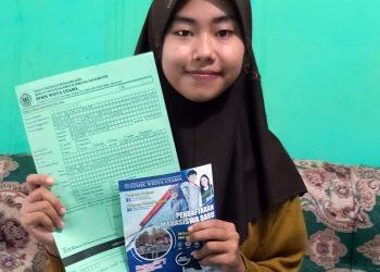 JALUR KIP KULIAH:Salah satu calon mahasiswa SWU yang mendaftar dengan Jalur KIP Kuliah.(SM/dok)