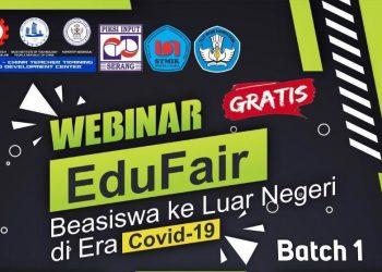 WEBINAR EDU FAIR : SWU akan menyelenggarakan Webinar Edu fair dan diskusi secara online. (SM/dok)
