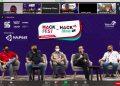 PENJURIAN: Tim juri melakukan penjurian ajang Hack Idea dalam rangkaian HAI Fest 2020 TelkomGroup, secara virtual, baru-baru ini. (SB/dok)