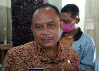 Kepala Badan Kepegawaian, Pendidikan, dan Pelatihan Daerah (BKPPD) Kabupaten Cilacap Warsono. (SB/Gayhul Dhika Wicaksana)