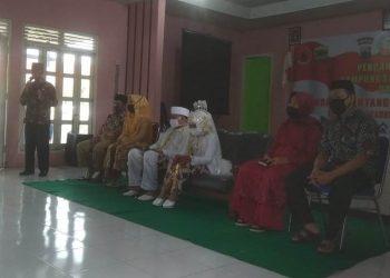rombongan pengantin