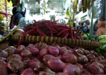BAWANG MERAH: Turunnya harga bawang merah menjadi salah satu penyebab deflasi di Kota Cilacap.