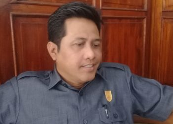 Ketua Pansus Raperda RDTR Kawasan Perkotaan Cilacap, Arief Junaedi. (SB/Teguh Hidayat Akbar)