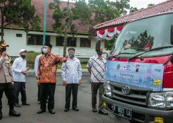 truk air bersih