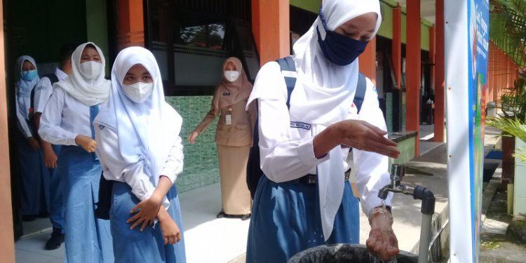 Uji Coba PTM Jateng di Cilacap, Rindu Setahun Akhirnya Terobati