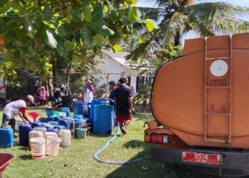 Bencana Kekeringan di Cilacap, Warga Enam Desa Kesulitan Air Bersih