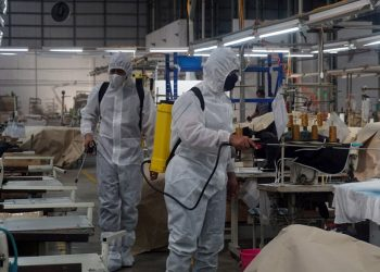 rapid antigen karyawan pabrik