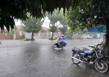 Peralihan Musim, Hujan mulai Kerap Guyur Cilacap